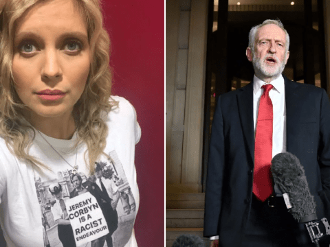 Rachel Riley claims she was 'highlighting Jeremy Corbyn's history of racism' with Photoshopped t-shirt