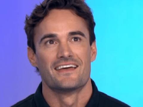 X Factor: Celebrity's Thom Evans gets flustered over Nicole Scherzinger dating rumours