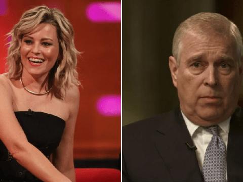 Elizabeth Banks shocks Graham Norton Show viewers with Prince Andrew joke