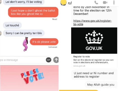 Man uses dating apps to get Muslim women to register to vote