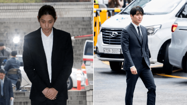 Jung Joon Young and Choi Jong Hoon