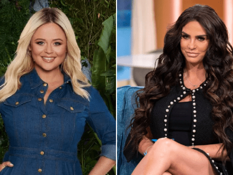 Katie Price wages war against Emily Atack over Extra Camp dig and 'threatens to jet out to I'm A Celebrity camp to confront her'