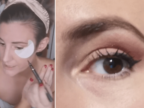 Stylist shares simple trick to create perfect, professional-looking winged eyeliner in seconds