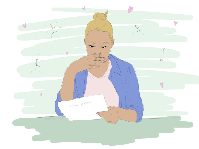 CINTA, ATAU SESUATU SEPERTI ITU (illo for Ella) bagaimana hutang mempengaruhi hubungan saya (copy)