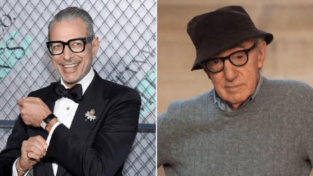 Jeff Goldblum and Woody Allen