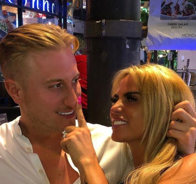 Katie Price 'hopes Kris Boyson could be her fourth husband' because 'he's the only one to care about her since Peter Andre'