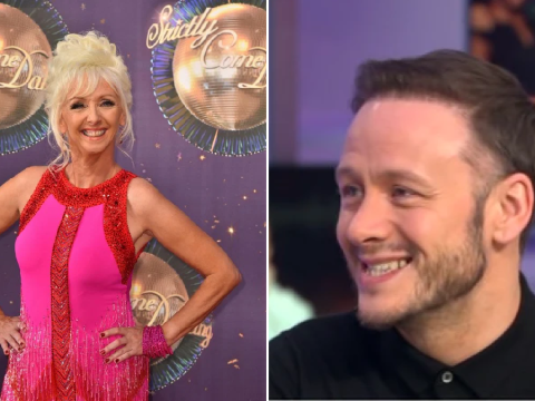 Strictly Come Dancing's Kevin Clifton accidentally lets slip Debbie McGee's routine for Christmas special