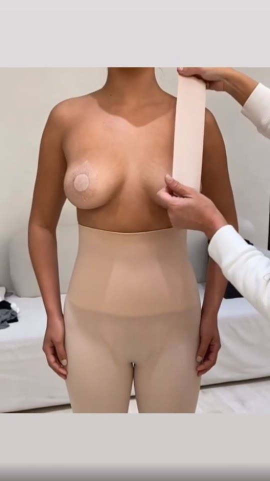 Kim Kardashian SKIMS body tape