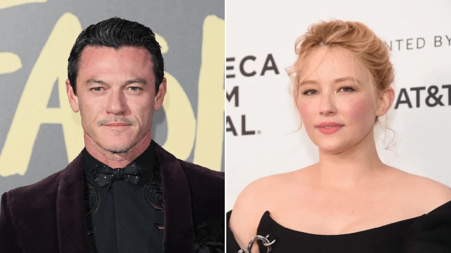 Luke Evans and Haley Bennett