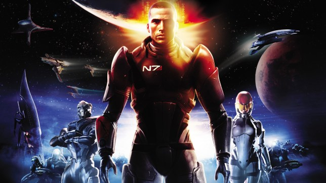 Mass Effect 1 key art