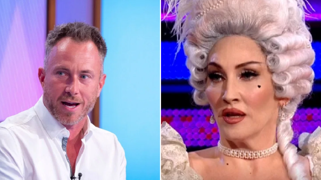 James Jordan and Michelle Visage