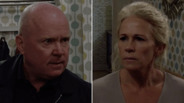 Phil Mitchell and Lisa Fowler in EastEnders