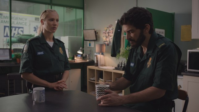 Ruby and Lev in Casualty