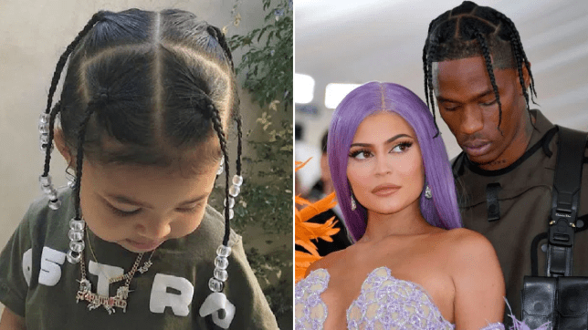 Kylie Jenner's daughter Stormi rocks braids just like her dad Travis Scott and our hearts have melted