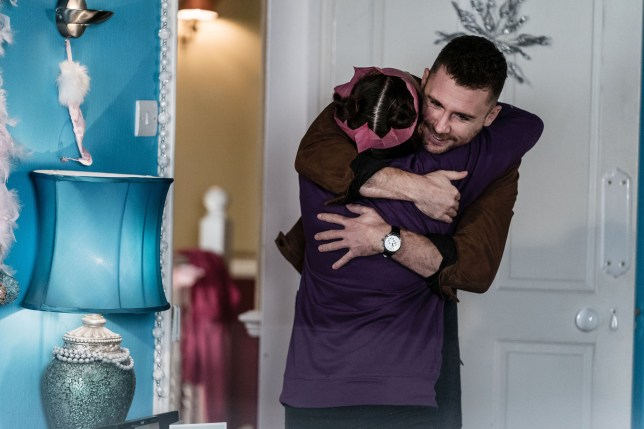 Lee and Tina Carter in EastEnders