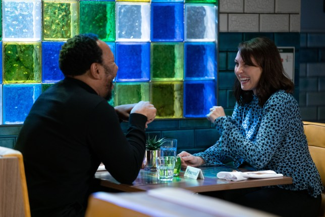 Honey Mitchell and Mitch Baker in EastEnders