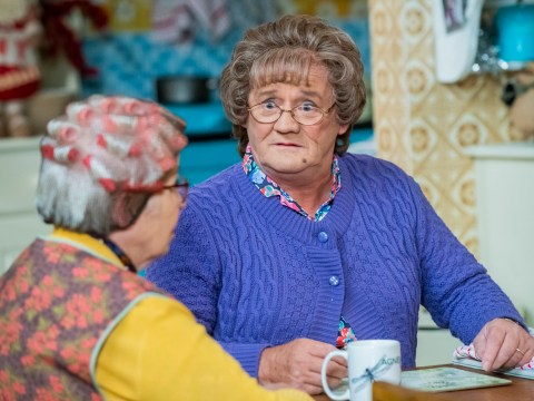 What time is Mrs Brown's Boys' New Year's Day special on TV tonight?