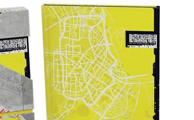 Map of Cyberpunk 2077