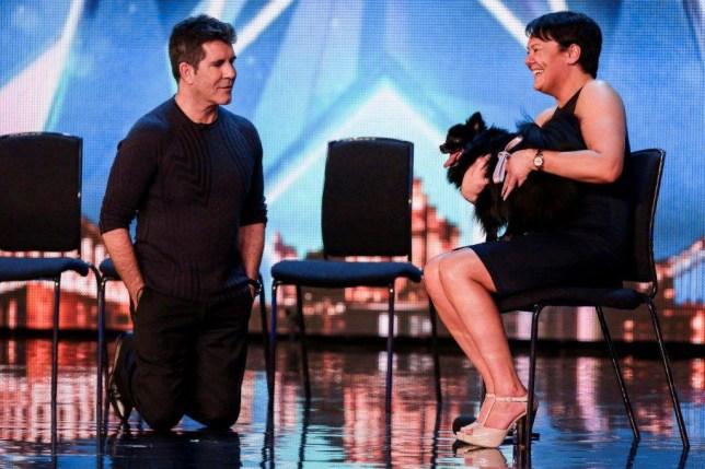 Britain's Got Talent star Princess the hypnodog