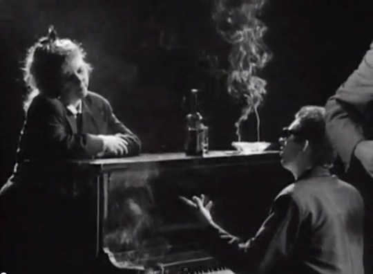 Shane MacGowan and Kirsty MacColl appears in the still video 'Fairytale Of New York Album by The Pogues'. Video4.jpg