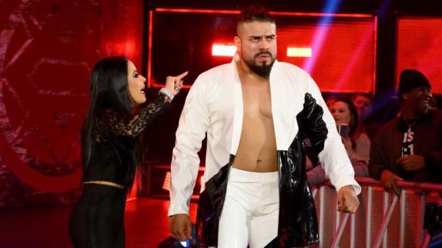 WWE superstar Andrade and Zelina Vega