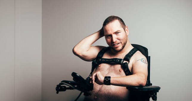 Andrew Gurza is a disabled porn star