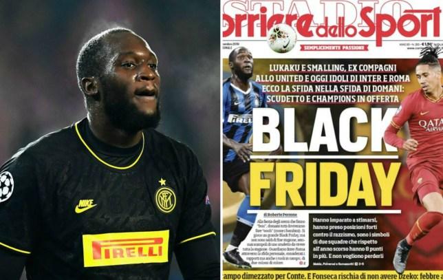 Man Utd have spoken to Chris Smalling and back Romelu Lukaku in wake of 'Black Friday' scandal