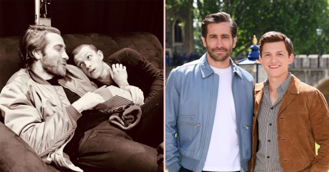 Jake Gyllenhaal and Tom Holland birthday