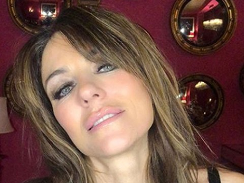 Elizabeth Hurley proves she's still a fountain of youth as she parties on Boxing Day