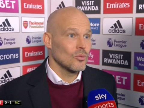 Freddie Ljungberg explains bizarre Arsenal team selection for Everton match