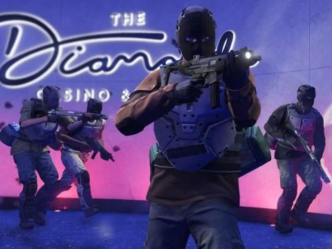 GTA Online Diamond Casino Heist is online now with new update