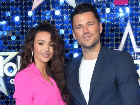Mark Wright thrilled to be 'locked up' with wife Michelle Keegan after long-distance marriage