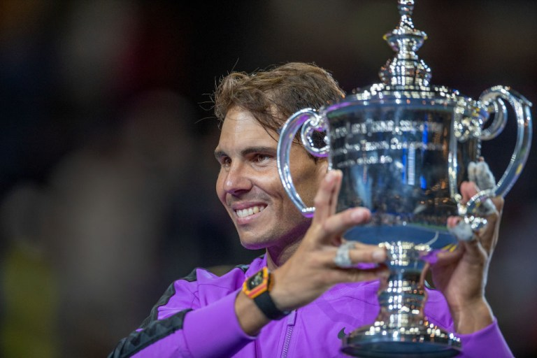 Nadal won two Grand Slams