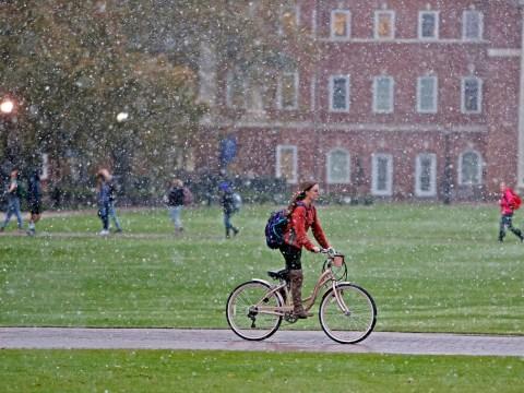 When do universities break up for Christmas?