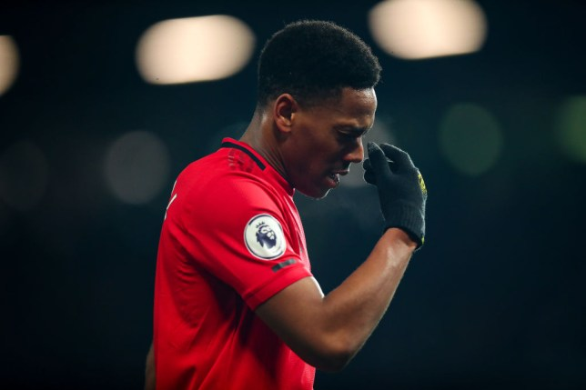 Man Utd's Anthony Martial 'out for a while' with injury