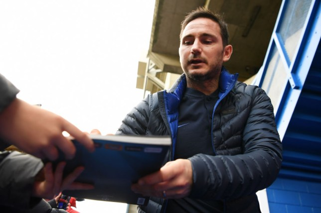 Frank Lampard is free to make his first Chelsea signing after the club's ban was lifted