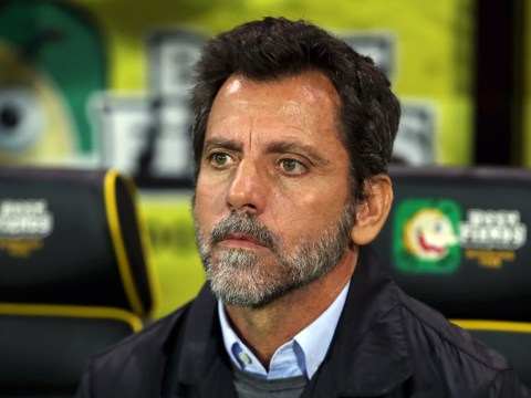 Watford sack manager Quique Sanchez Flores after less than three months in charge