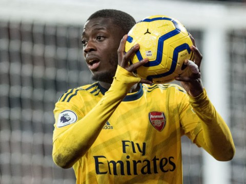 Arsenal deliver positive Nicolas Pepe injury update ahead of Manchester City clash
