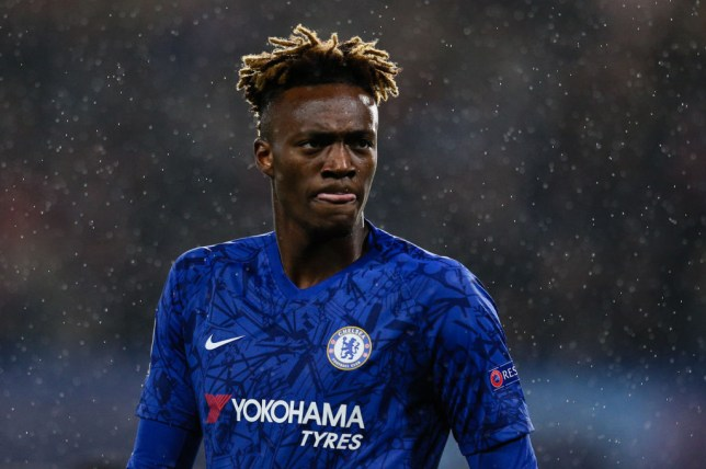 Tammy Abraham scored Chelsea's opener in their Champions League win over Lille