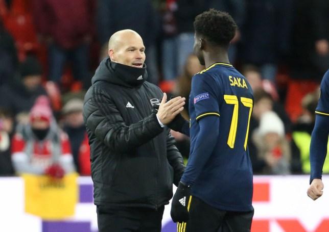 Bukayo Saka inspired Arsenal's comeback against Standard Liege on Thursday