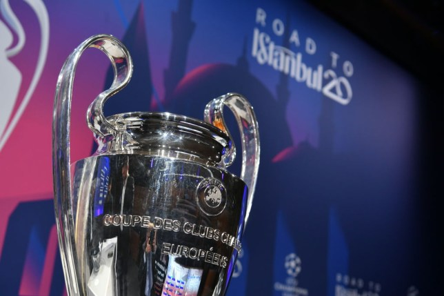 A general view ahead the UEFA Champions League 2019/20 Round of 16 Draw at the UEFA headquarters, The House of European Football