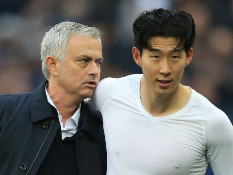 Jose Mourinho admits he's fallen 'in love' with Tottenham star Son Heung-min ahead of Manchester United clash
