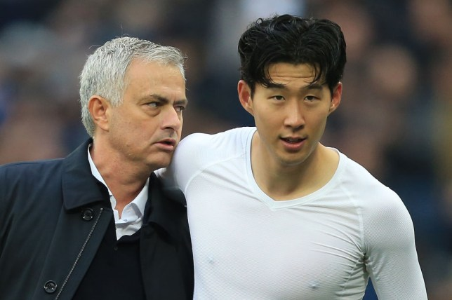 Jose Mourinho has already fallen under the spell of Tottenham ace Son Heung-min