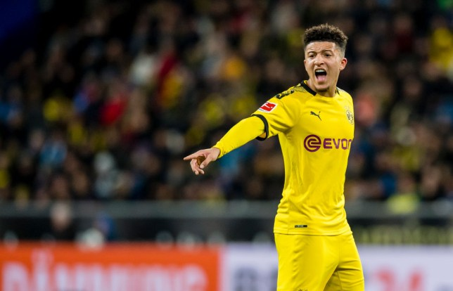 Jadon Sancho is wanted by Chelsea and Manchester United