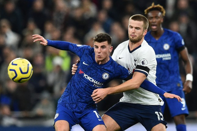 Mason Mount impressed for Chelsea during Sunday's win over Tottenham