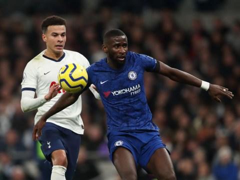 Spurs investigation into alleged Antonio Rudiger racism in Chelsea clash 'inconclusive'
