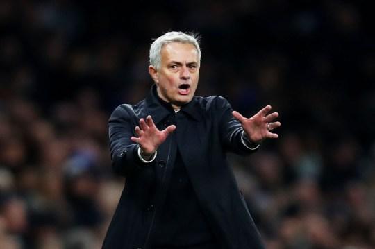 Jose Mourinho is preparing to make his Old Trafford return with Tottenham