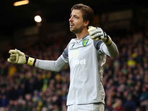 Tim Krul reveals what he told Mesut Ozil after Pierre-Emerick Aubameyang penalty controversy