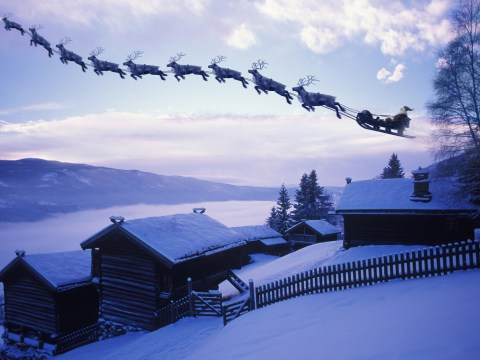 How many reindeer does Santa have and what are their names?