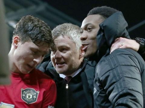 Victor Lindelof praises Ole Gunnar Solskjaer's 'brave' tactical decision that set up Manchester United win